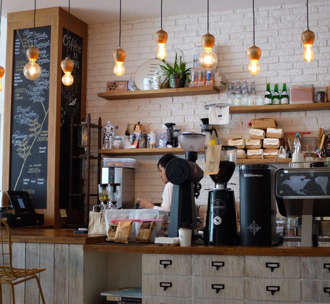کافه ای دنج و آرام